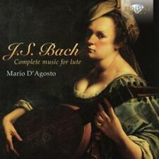 JS Bach: D 'Augusto, Mario-Complete Works for ANC * 2 CD * NUOVO *