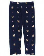 NWT~Gymboree SMART KITTIES navy leggings with cat and hearts~3-6