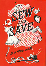 ROBERT  OPIE  ADVERTISING  POSTCARD  -  SEW  AND  SAVE