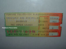 THE HUMAN LEAGUE 1982 Concert Ticket Stub PASADENA PERKINS PALACE Very Rare