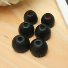 Replacement Silicone Earbuds Ear Tips For Sony MDR DR Series 3Pairs New