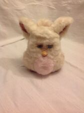Furby Emoto-Tronic 2005 Tiger Electronics Hasbro White Light Pink Brown Blue Eye