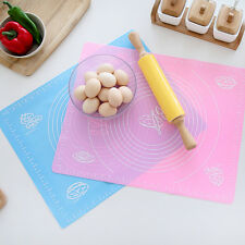 Silicone Cutting board Cut Mat Sugarcraft Fondant Cakes Clay Pastry Dough Lay