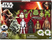 Star Wars The Force Awakens Forest Mission Action Figures 5 Pack Brand New