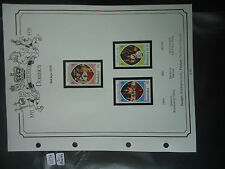 commonwealth stamps 1978 25th anniversary of coronation dominica MNH