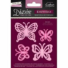 DIE'SIRE ESSENTIALS BEAUTIFUL BUTTERFLIES CUTTING DIE by CRAFTERS COMPANION