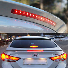 Rear Trunk LED Lip Spoiler Painted For HYUNDAI 2011-2015 Elantra Avante MD