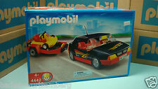 Playmobil 4442 Car with Go-Cart playmobile mint in Box for collectors toy