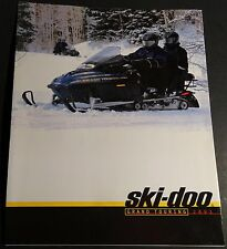 2001 SKI-DOO GRAND TOURING SNOWMOBILE SALES BROCHURE 12 PAGES NEW   (677)
