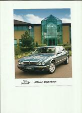 "JAGUAR SOVEREIGN PRESS PHOTO ""BROCHURE RELATED"""
