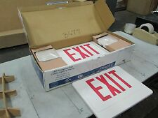 Howard LED Emergency/Exit Combination Fixture Mod #HL02143RWRC 120-277 VAC (NIB)