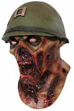 Halloween LifeSize Costume CAPTAIN ZOMBIE LESTER LATEX DELUXE MASK Haunted House