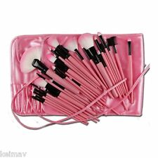 32-Piece Make-Up Brush Set (Pink)