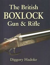 HADOKE DIGGORY SHOTGUNS & SHOOTING BOOK BRITISH BOXLOCK GUN & RIFLE hardback new