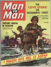 Man to Man April 1959 VF I walked Into Hell in Saigon
