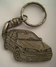 Vintage Garage in Israel Eilat for RENO and NISAN Automobile Car Keychain 1990S