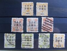 CHINA COLLECTION OF EARLY DOWAGER STAMPS.