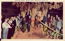MARRIAGE SCENE, MAMMOTH CAVE, KY 1928 Herb, on other side is picture of me, Bob