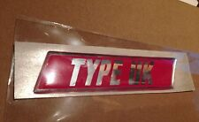 Subaru impreza Bugeye Blobeye STI Type UK rear badge 100% genuine OEM