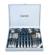 New 20pcs DANSK TORUN Cutlery Knives Forks Spoons Flatware Set Place Setting