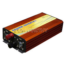 1500W Pure Sine Wave Inverter (DC) 12V-220V (AC) Solar Inverter Home Boat RV