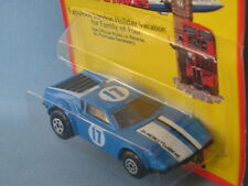 Lesney Matchbox Superfast De Tomaso Pantera Blue Body USA Rare Issue in BP