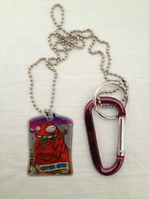The Trash Pack Trash Tags Gutter Grub #3 of 4 Exclusive Backpack Clip Key Chain