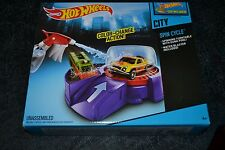 HOT WHEELS CITY SPIN CYCLE COLOR SHIFTERS CAR INCLUDED