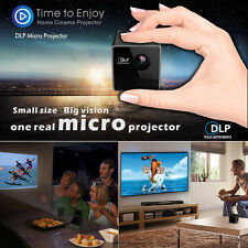 UNIC Mini Handheld DLP 1080P HD Projector Beamer w 3.5mm Audio Port/TF Card Slot
