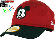 Disney Mickey Mouse New Era 940 My 1st Stretch Fit Infants Red Cap (0-2 years)
