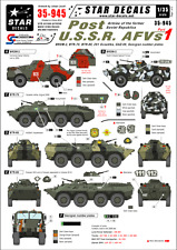 Star Decals,35-945,Decal: Post U.S.S.R. AFVs#1.Armies of the former Soviet rep.