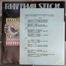 RHYTHM STICK 4-4 dj 2x12 inch ss NEW 1992 TC One Way RODNEY O SISTER SLEDGE Lulu