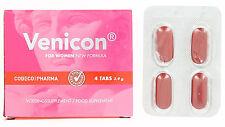 4 Pillole stimolanti per Donna VENICON FOR WOMEN potenziante sessuale