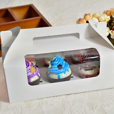 Wedding Decor Cupcake Macaron Holder Packing Carboard Container Carry Box Case