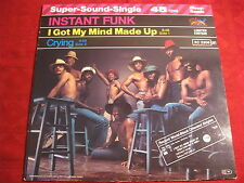 """12"""" INSTANT FUNK I Got My MInd Made Up SALSOUL RECORDS"""