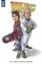 Back to the Future #6 Marcelo Ferreira Regular Cover Idw Comic Book
