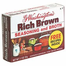 G. Washington Brown Broth, (Pack of 12- Eight Pack boxes)