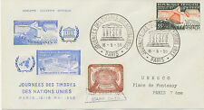 "FRANKREICH/UNO ""UNESCO - JOURNEES DES TIMBRES DES NATIONS UNIES PARIS 16-5-59"""