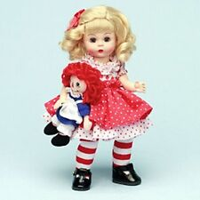 """Madame Alexander 8"""" wendy Doll Raggedy Ann & me storyland Collection 2006 new"""