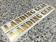 "Nos OS BMX Decal Sticker Gold Landing Gear 20"" Fork for, PK Ripper SE Quadangle"