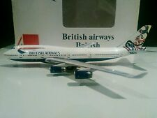 Big Bird British Airways 1/400 scale Whale Rider Canada Boeing 747-400 G-CIVY