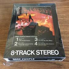 DEEP PURPLE MADE IN EUROPE VINTAGE RARE 8 TRACK TAPE TESTED LATE NITE BARGAIN!