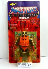 MOTU, Stinkor, Masters of the Universe, MOC, carded, He-Man, figure, sealed, NIP