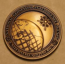 National Geospatial-Intelligence Agency Challenge Coin