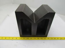 "Heavy Duty Large Cast Iron Machinest V Block 8""x6""x8"""