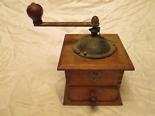 ANTIQUE VTG COFFEE GRINDER FRENCH PEUGEOT FRERES COFFEE MILL PRIMITIVE KITCHEN
