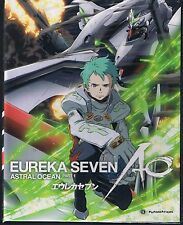 Eureka Seven: AO Part 1 Limited Edition (BD/DVD, 2013, 4-Disc Set)