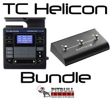 TC Helicon VoiceLive Touch2 Vocal Effects Looper Processor Switch 3 Bundle