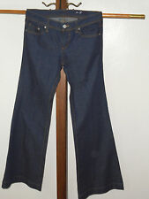 Seven brand Blue Jeans Size 29   Flare 5 pocket  zipper fly.