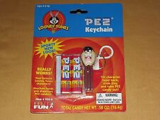 2000 PEZ LOONEY TUNES KEYCHAIN TAZ TAZMANIAN DEVIL  935-0 UNOPENED PACKAGE